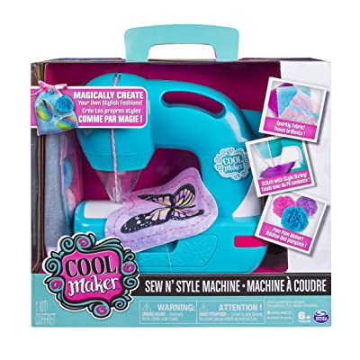 Sew Cool Sew N Style Machine: Toys & Games