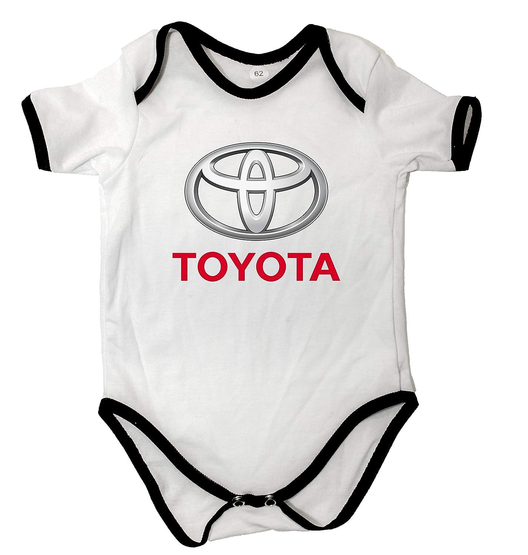 Traje de beb/é Baby Body Manga Corta beb/é-ni/ños beb/é-ni/ñas Blanco Logo Car Japan Auto Fans 100/% Algod/ón Regalo DTG