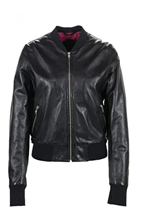 premium selection 272d1 7cb45 Freaky Nation - Damen Lederblouson in Schwarz, Art. Harlem ...