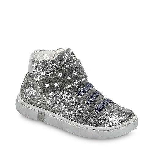 fd086f79cf9 Primigi - Botas de Piel para niña plateado plata / gris: Primigi ...
