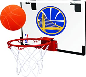 Rawlings NBA Game On Polycarbonate (PC) Mini Basketball Hoop Set (All Team Options)