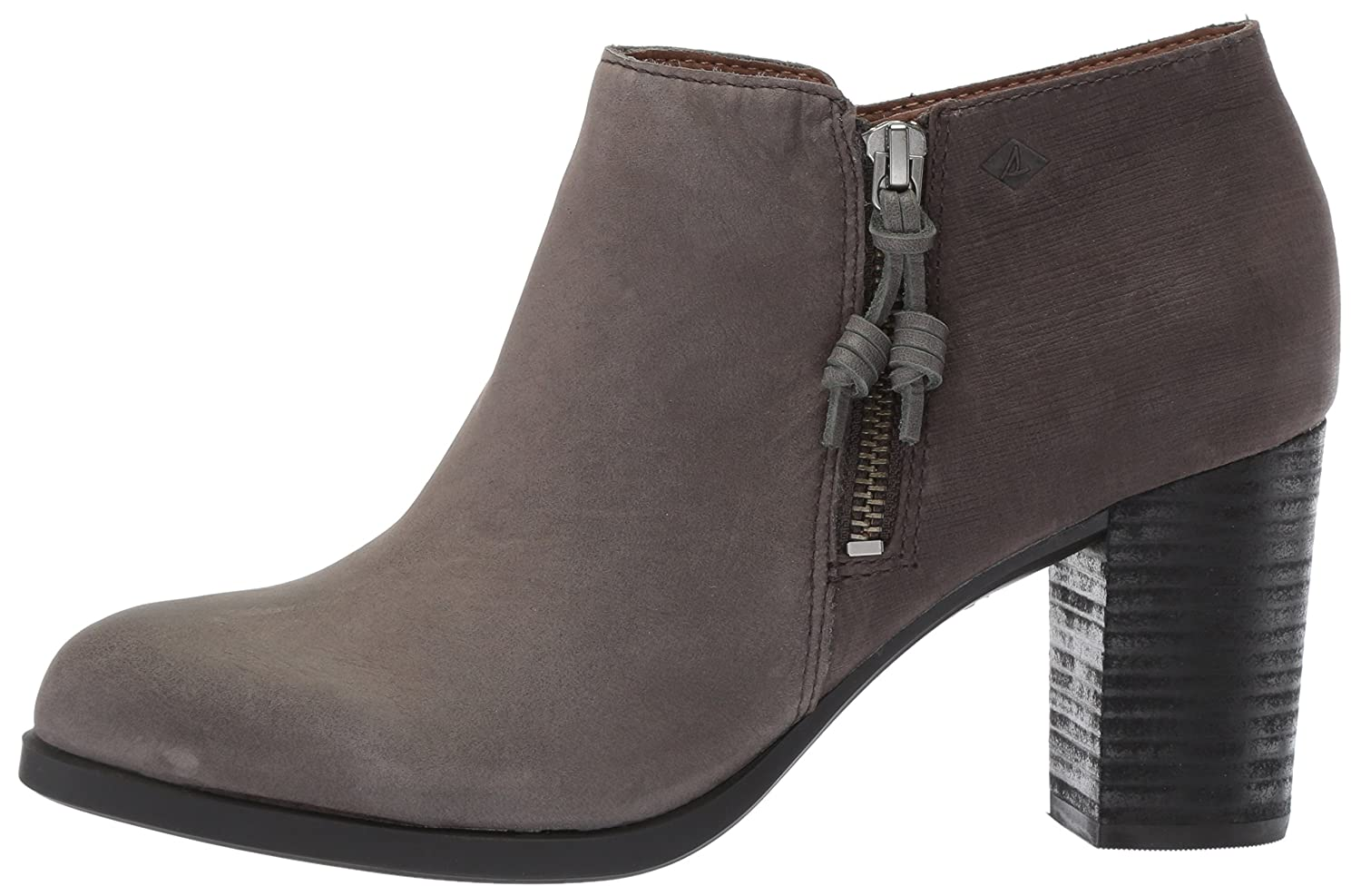 Sperry Top-Sider Women's Dasher Lille Ankle Bootie B01N9JP2LC 10 B(M) US|Dark Grey