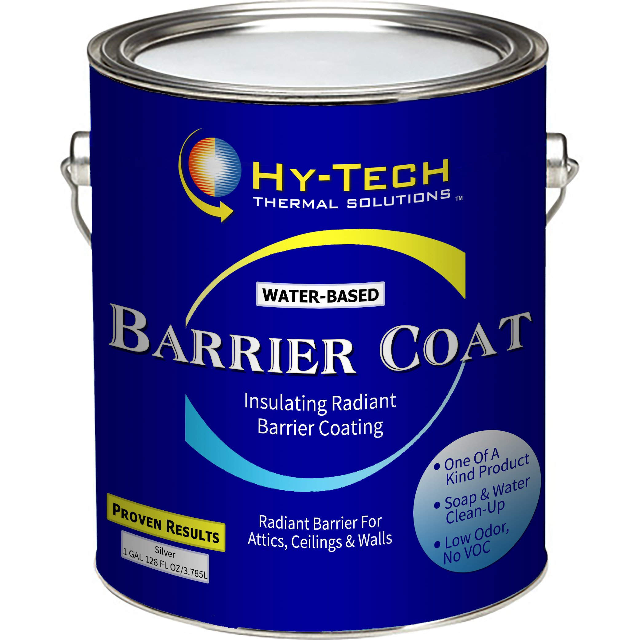 Barrier Coat - Radiant Barrier Paint - 1 Gallon by Hy-Tech Thermal Solutions