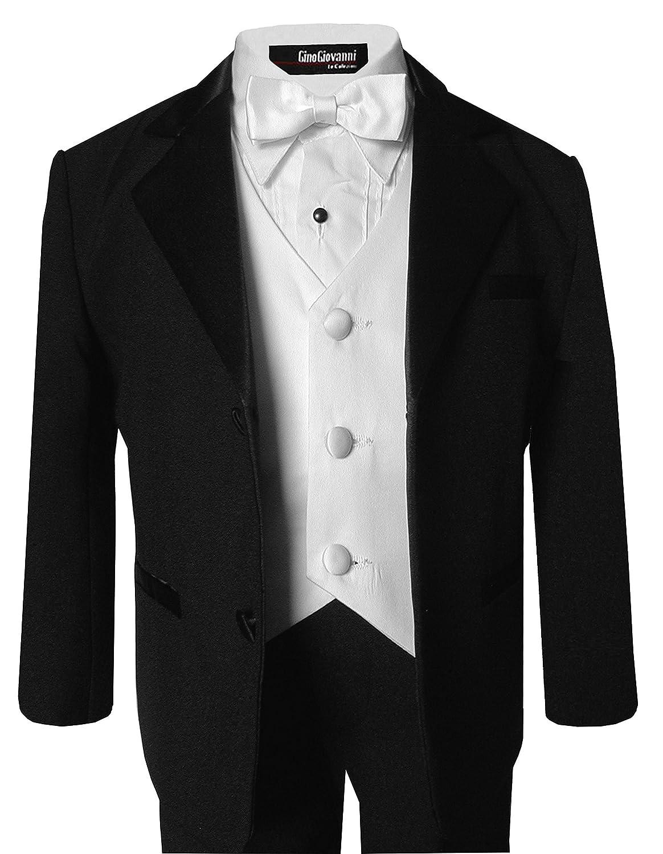 Big Boys Formal Dresswear Set G260 10, Black//White