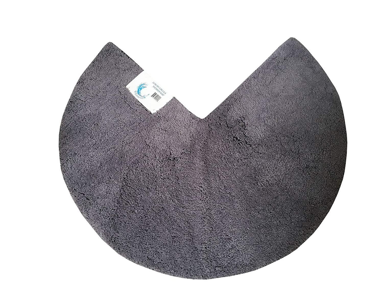 Alfombrilla de Ducha de Microfibra 90 cm con Esquinas Circulares Cazsplash Antideslizante