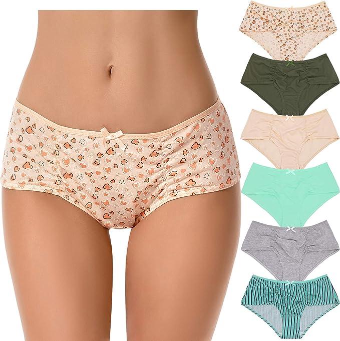 Curve Muse Ropa Interior para Mujer, Talla Grande, 100% algodón ...