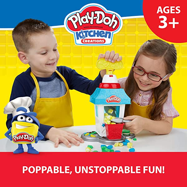 Play-Doh Kitchen Creations Popcorn Party Playset