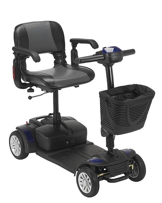 Amazon.com: drive medical Spitfire EX viaje 4 ruedas Scooter ...