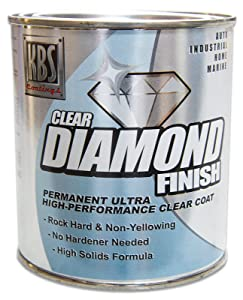 KBS Clear Coat 8404 Diamond Finish