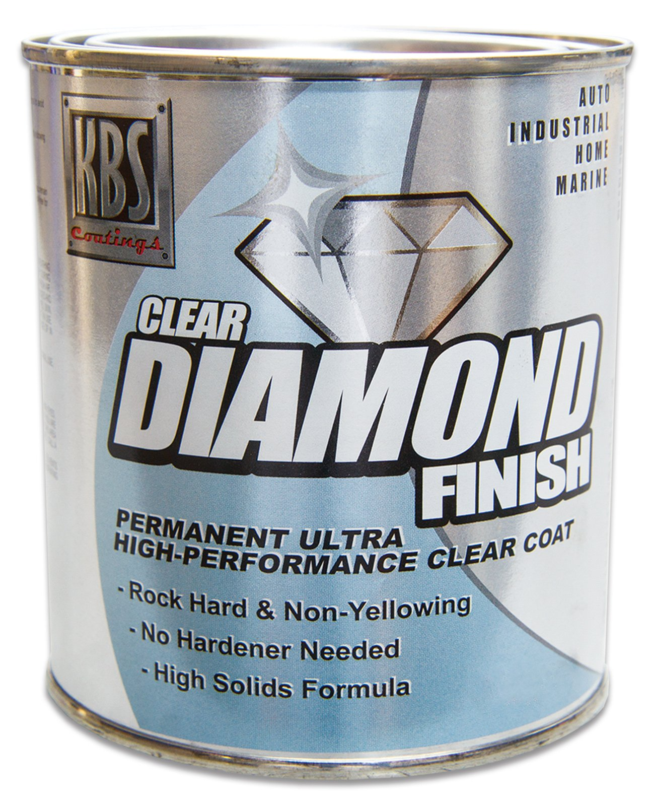 KBS Coatings 8504 DiamondFinish Clear Coat - 1 Gallon by KBS Coatings