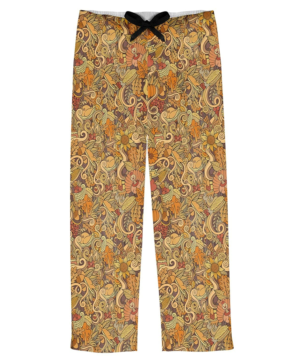 Personalized RNK Shops Happy Thanksgiving Mens Pajama Pants