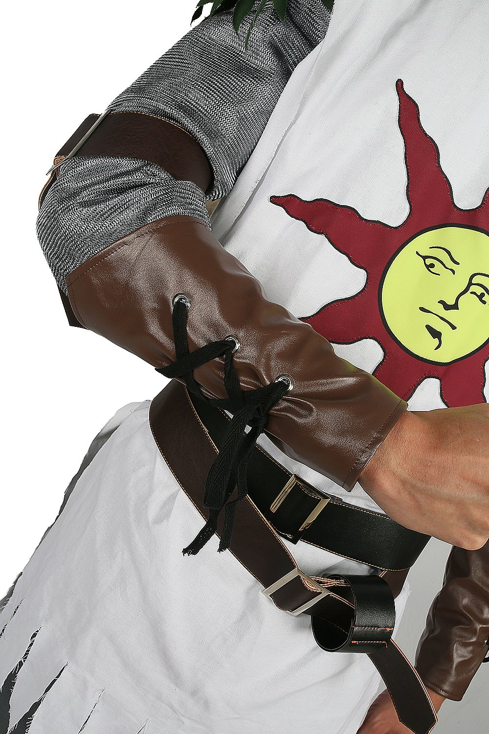 Solaire Costume Sun Warrior Outfit for Halloween Cosplay L by xcostume (Image #6)