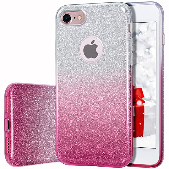 iphone 7 case girls glitter