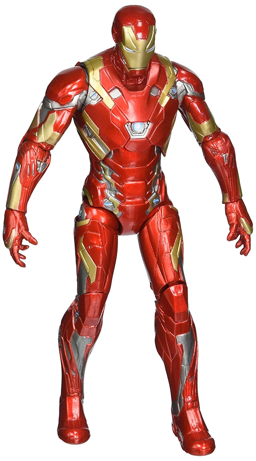 Diamond Select Marvel Select Captain America Bürgerkrieg Iron Man Mark 46 Action Figur