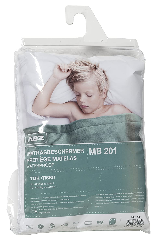 Duvatex MB201/90200/Waterproof Mattress Protector 90/x 200/cm White