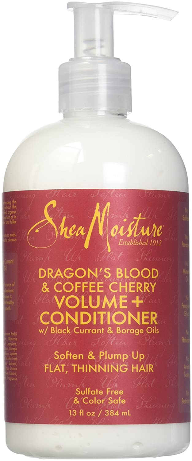Shea Moisture Dragon's Blood & Coffee Cherry Volume & Conditioner for Unisex, 13 Ounce PerfumeWorldWide Inc. Drop Ship U-HC-12269