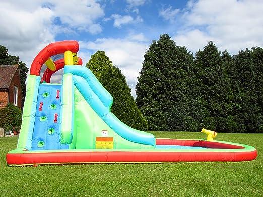 BeBop Neptune Torre tobogán Inflable para niños: Amazon.es: Juguetes y juegos