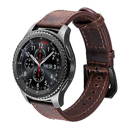 Amazon.com: iBazal Gear S3 - Correa para reloj (0.866 in ...