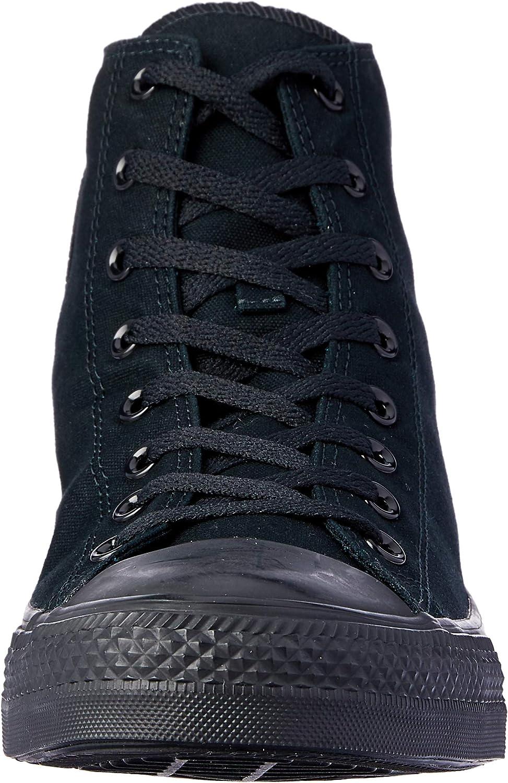 Converse Optical White, Sneakers Basses Mixte Noir Noir