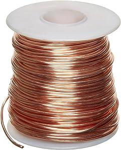 SMALL PARTS-123333 Bare Copper Wire, Bright, 20 AWG, 0.032