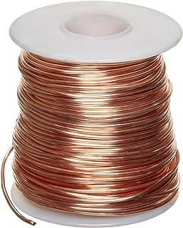 Stranded copper wire gauge diameter wiring diagram amazon com bare copper wire bright 24 awg 0 02 diameter 790 awg wire gauge table stranded copper wire gauge diameter keyboard keysfo Choice Image