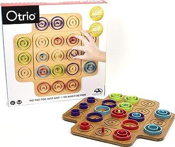 Spin Master Otrio (Wood) Juego de Mesa de Aprendizaje Niños - Juego de Tablero (Juego de Mesa de Aprendizaje, Niños, Niño/niña, 6 año(s), Interior, China): Amazon.es: Juguetes y juegos