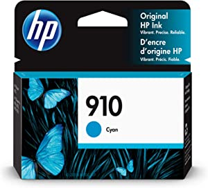 HP 910 | Ink Cartridge | Cyan | 3YL58AN