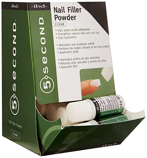 IBD 5 Second Nail Filler Powder: Amazon.co.uk: Beauty