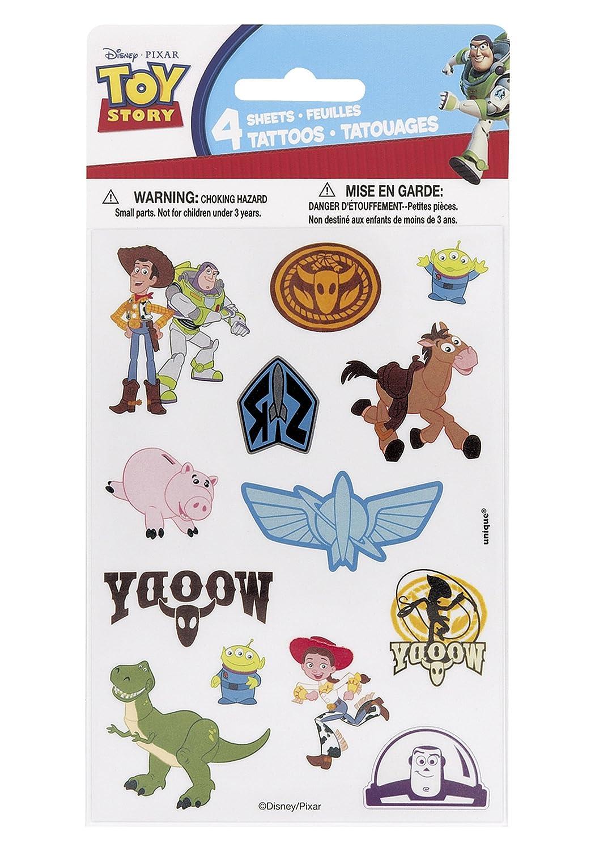 Toy Story 3: 4 Tattoo Sheets: Amazon.es: Juguetes y juegos