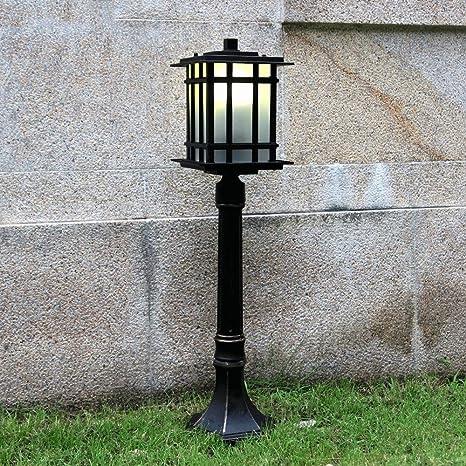 Vampsky Linterna de cristal al aire libre Exterior del ...