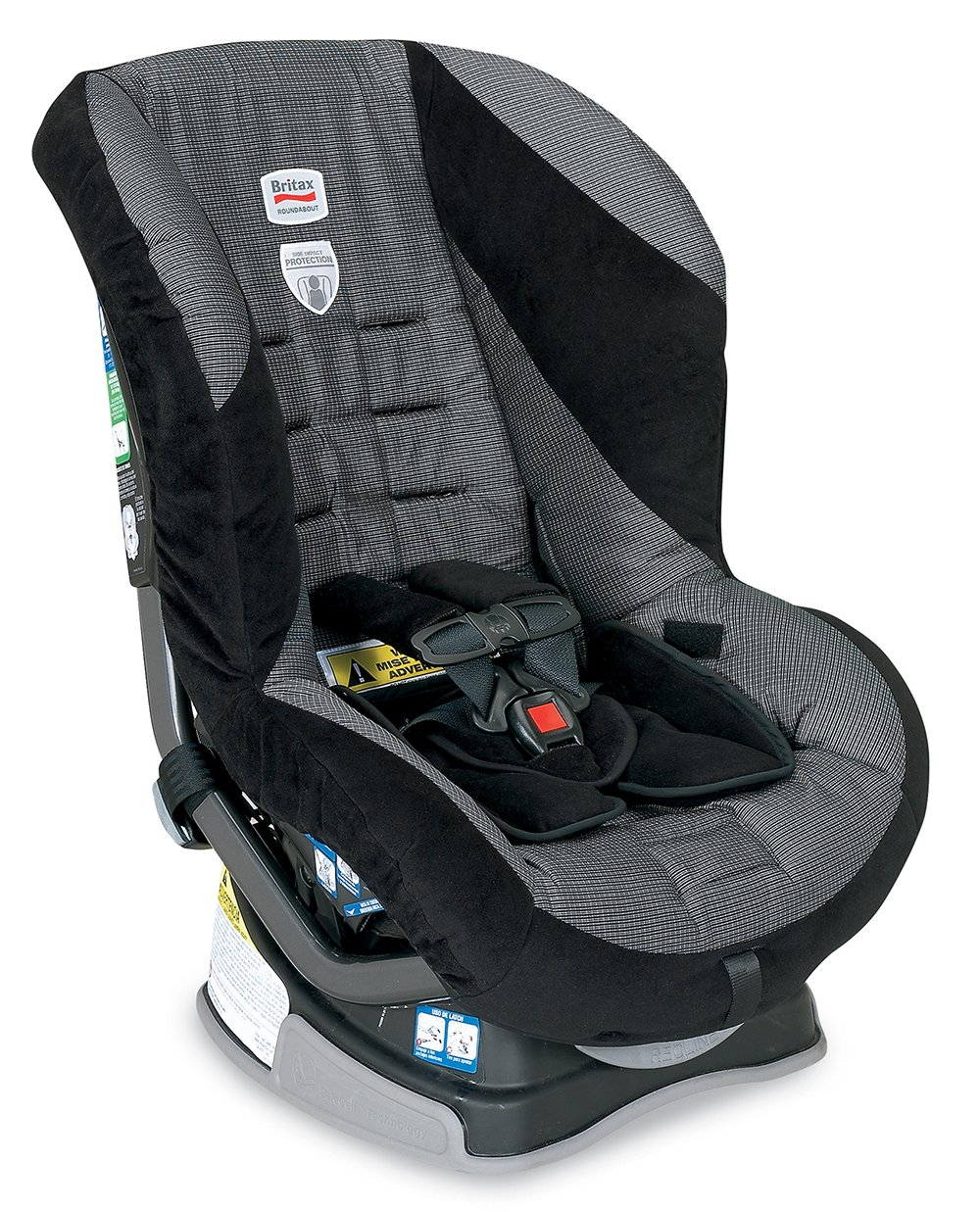 Amazon.com: Britax Roundabout G4 Convertible Car Seat, Onyx (Prior Model):  Baby