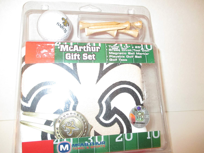 McArthur タオル&スポーツ The New Orleans Saints NFL ゴルフギフトセット   B07PJCBNP2