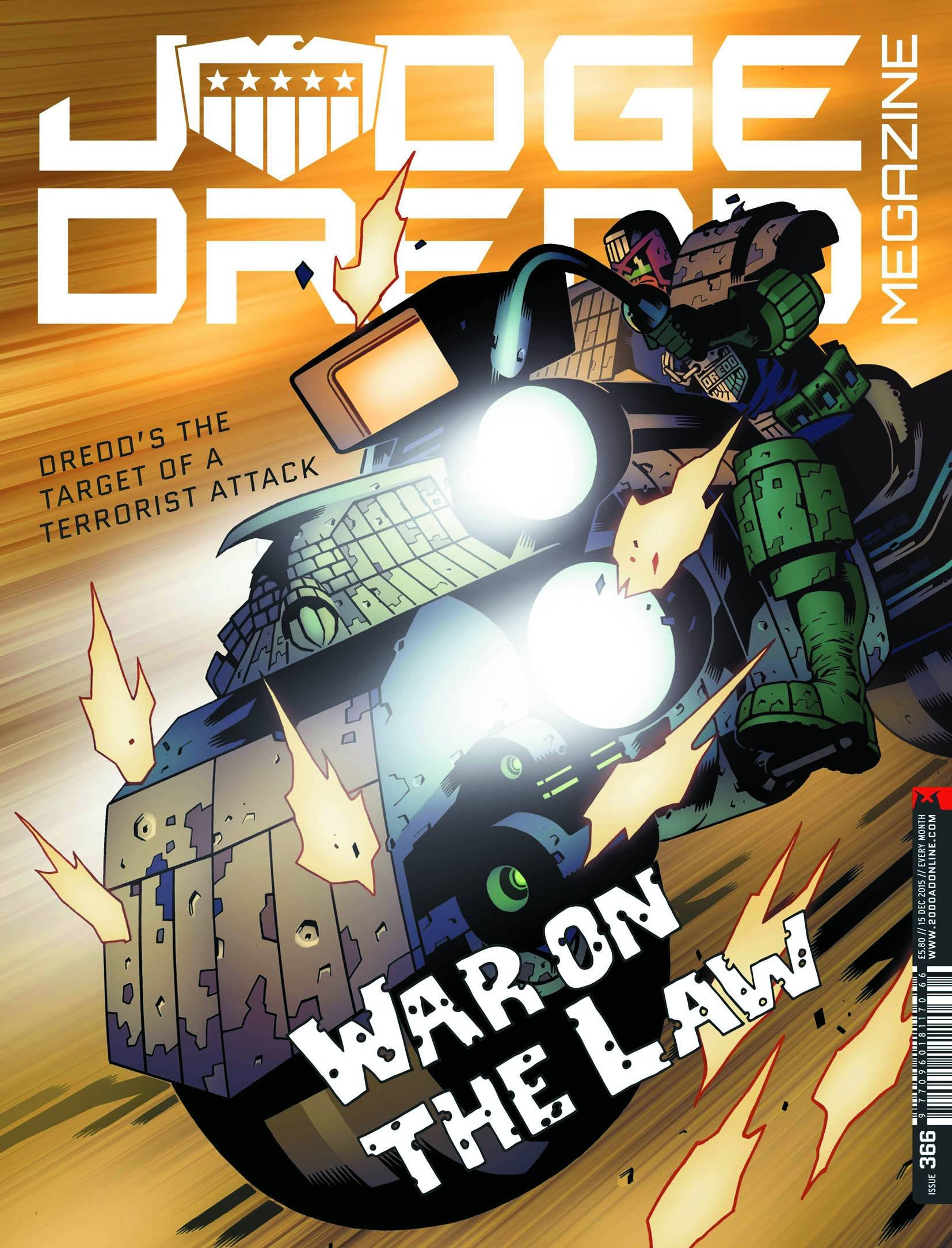 Read Online Judge Dredd Megazine #366 Dec 15 2015 pdf epub