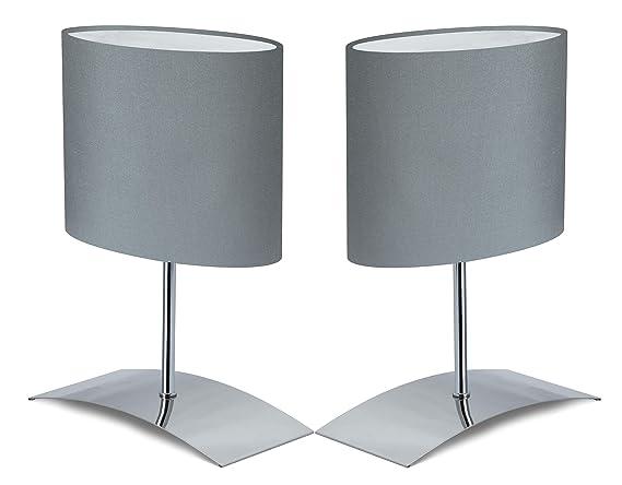 Trango 2 unidades Diseño Lámpara de mesa noche lámpara de ...