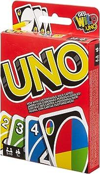Comprar juego de mesa: Mattel Games UNO classic, juego de cartas (Mattel W2087)