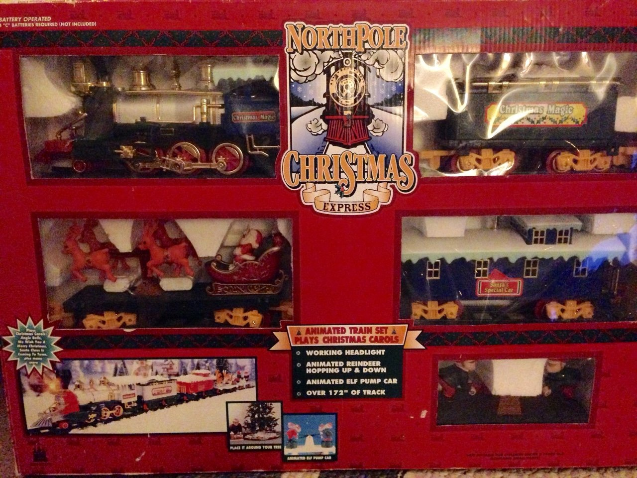 Buy North Pole Christmas Express Train Set Online at Low ...