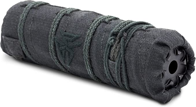 Burn Proof Gear Suppressor Cover Heavy (Black, 6.5)