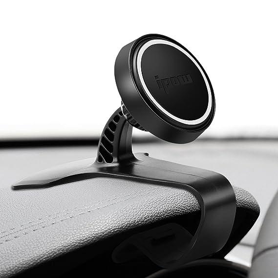 ipow HUD-Design Magnet Handyhalterung Handyhalter für Auto Armaturenbrett, 360° drehbare kfz Handy Halterung Compatible mit i