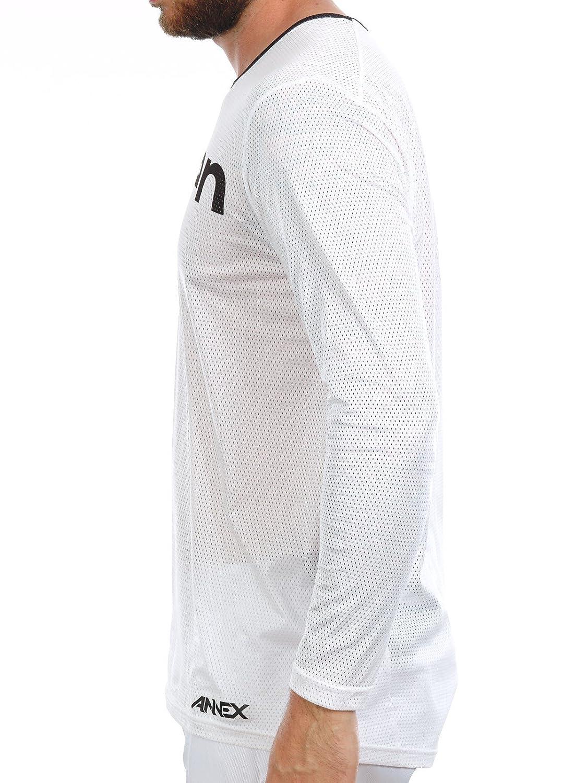 Seven Mens Annex Staple Vented Jersey White