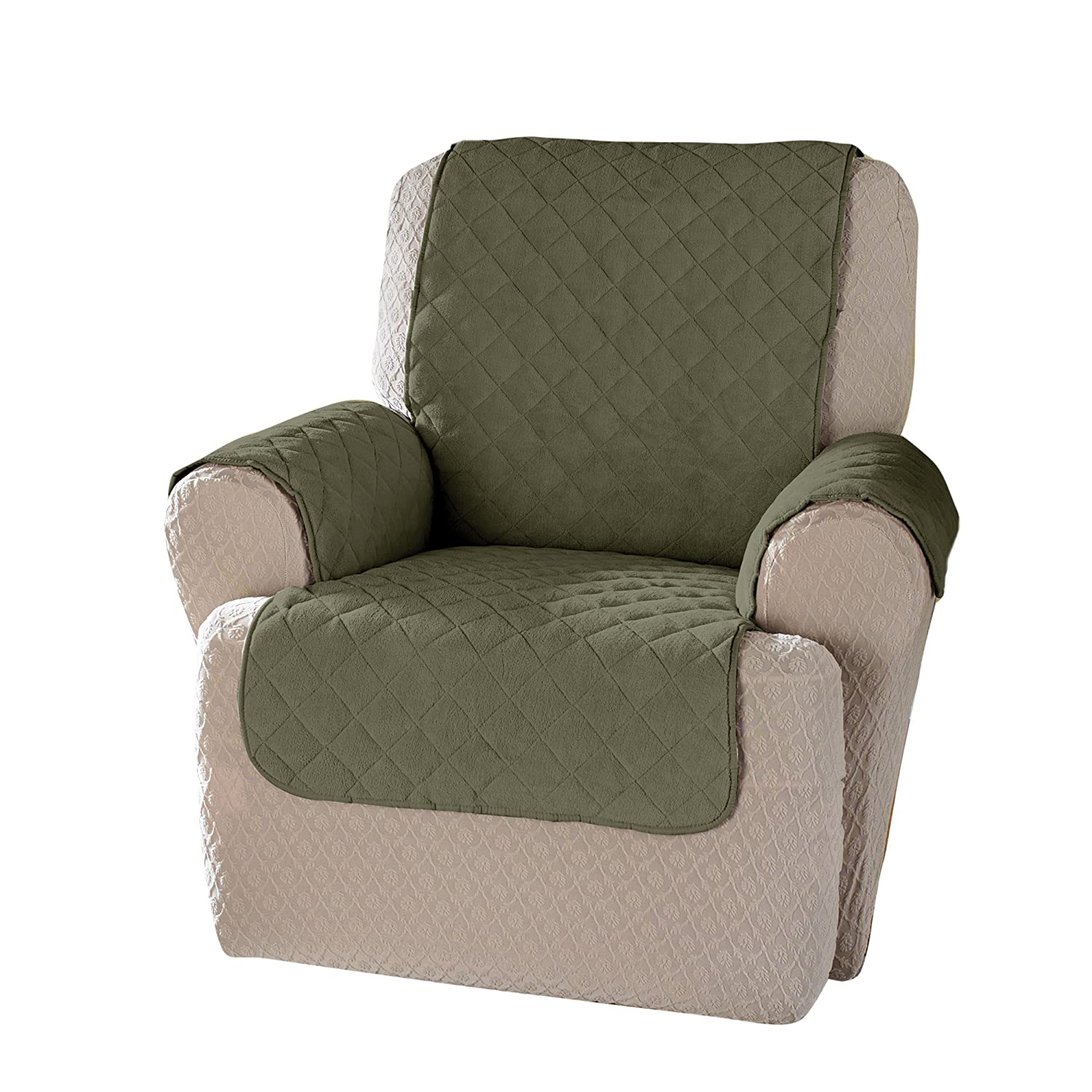 Amazon Innovative Textile Solutions Plush Wing Recliner