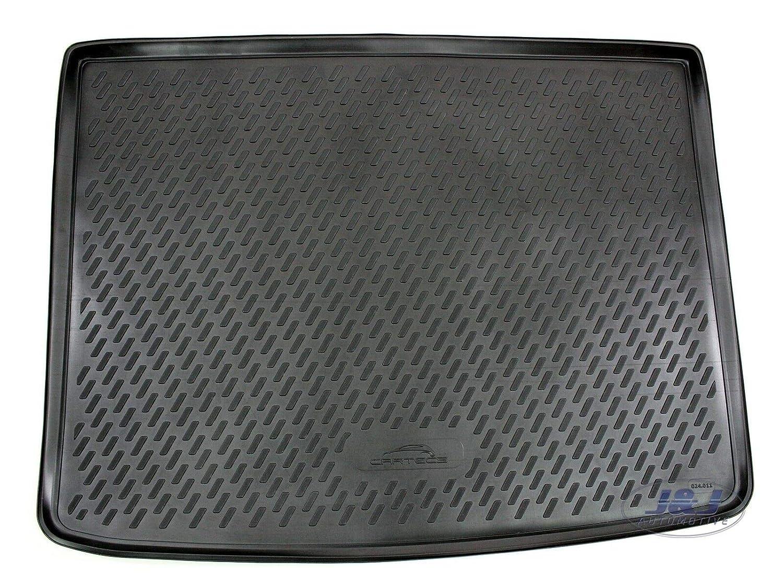 J/&J AUTOMOTIVE Premium Tapis DE Coffre Caoutchouc Compatible avec Fiat 500X 2014-pr/és