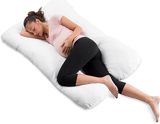 Full Body Pregnancy Pillow U Shaped Maternity Support Cushion for Nursing Women