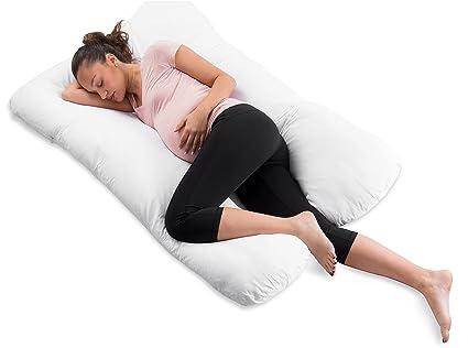 Buy Comfysure U Shape Pregnancy Contoured Body Pillow Memory Foam