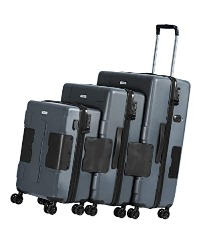 TACH V3 3-Piece Hardcase Connectable Luggage & Carryon Travel Bag Set
