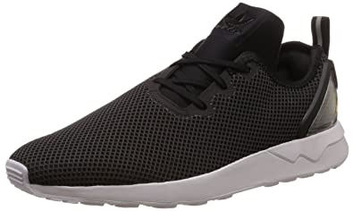 official photos f626c e02c5 Adidas Originals ZX FLUX ADV ASYMMETRICAL Black Men Sneakers Shoes
