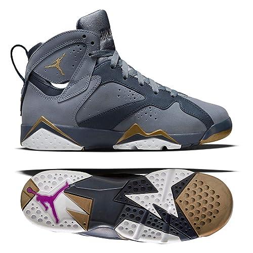 e149d9e11ef7c3 Air Jordan 7 Retro Maya Moore 442960 407 Gg Blue Dusk Size 3.5Y  Amazon.ca   Shoes   Handbags