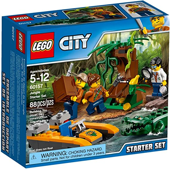 LEGO City 60157 Exploradores de la Jungla: Amazon.es: Juguetes y ...