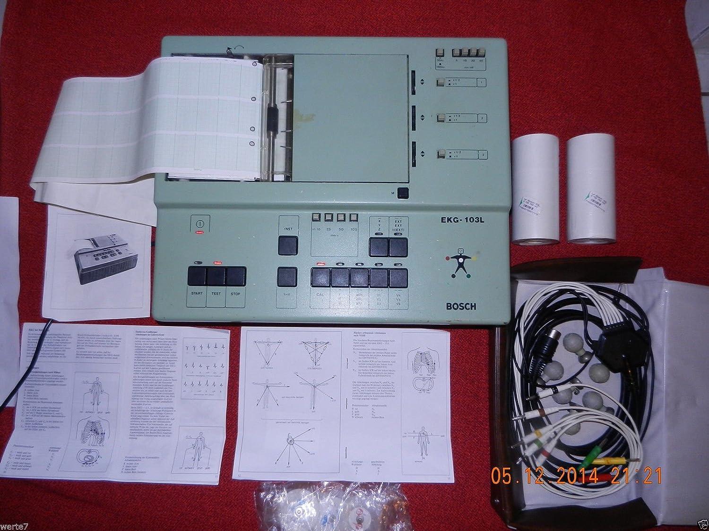 BOSCH EKG-103L ELEKTROKARDIOGRAPH + EKG Kabel mit: Amazon.de: Elektronik