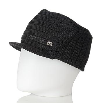 e1ab7f1a76e Ripcurl Fearless Peaked Beanie Black Men s Hat One Size  Amazon.co ...