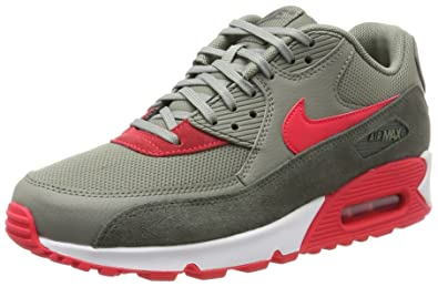super popular 917af 3c078 Nike Damen WMNS Air Max 90 Sneaker, Mehrfarbig (River Rock Sirena Red-